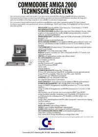 Brochures: Amiga 2000 (2)