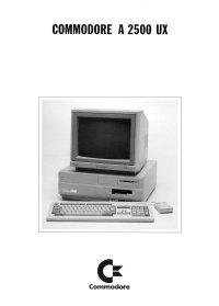 Brochures: Amiga 2500 UX