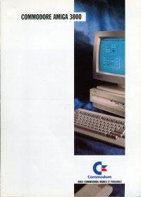 Brochures: Amiga 3000