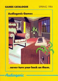 Brochures: Audiogenic games 1984