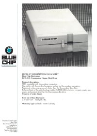 Brochures: Blue Chip 64