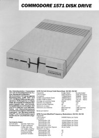 Brochures: Commodore 1571 (2)