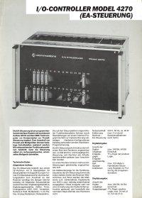 Brochures: Commodore 4270