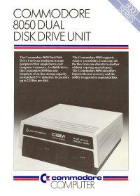 Brochures: Commodore 8050