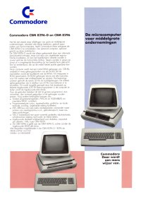 Brochures: Commodore 8296 / 8296-D