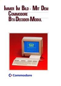 Brochures: Commodore BTX