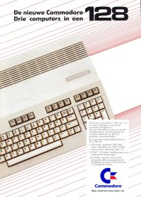 Brochures: Commodore C128 (2)