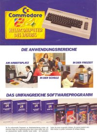 Brochures: Commodore C64 (1)