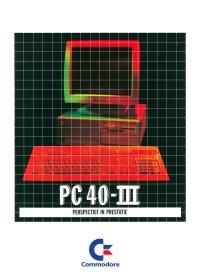 Brochures: Commodore PC 40-III
