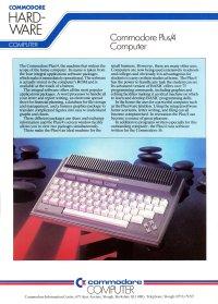 Brochures: Commodore Plus/4