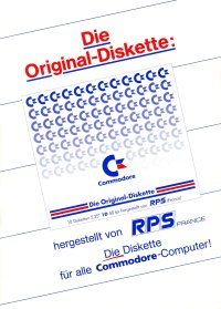 Brochures: Commodore - RPS Diskette