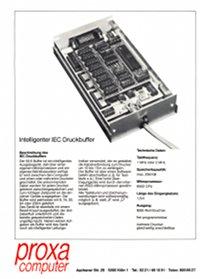 Proxa IEC Druckbuffer