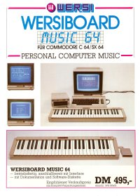 Brochures: Wersi - Wersiboard Music 64