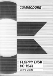 Commodore floppy disk VC 1541 User's guide