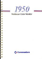 1950 Multiscan Color Monitor