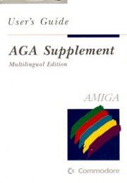 AGA Supplement