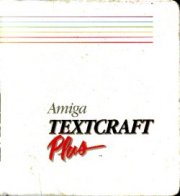 Amiga TEXTCRAFT Plus
