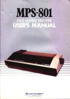 MPS-801 Dot Matrix Printer User's manual