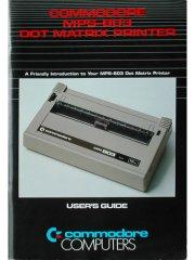 Commodore MPS-803 Dot Matrix Printer User Guide