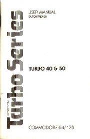 Robcom Turbo Series 40 / 50