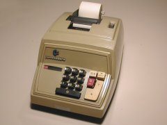 Commodore 208 adding machine.