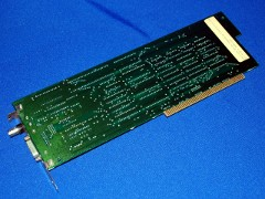 The rear view of the A 2065 Ethernet card.