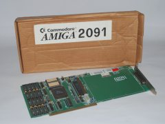 The Commodore A 2091 with original packaging.