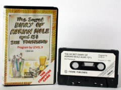 Commodore C64 game (cassette): The secret diary of Adrian Mole aged 13 3/4