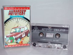 Commodore C64 game (cassette): Autotest Simulator