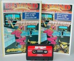 Commodore C64 game (cassette): Psytron