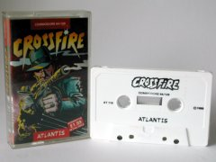 Commodore C64 game (cassette): CrossFire