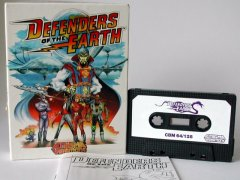 Commodore C64 game (cassette): Defenders of the Earth