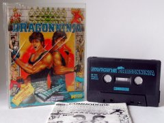 Commodore C64 game (cassette): Dragonninja