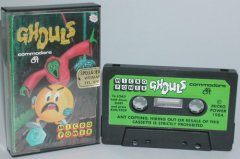 Commodore C64 game (cassette): Ghouls