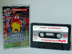 Commodore C64 game (cassette): Harvey Headbanger