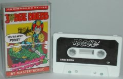 Commodore C64 game (cassette): Judge Dread