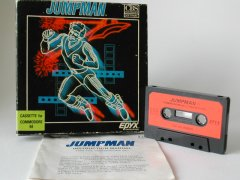 Commodore C64 game (cassette): Jumpman