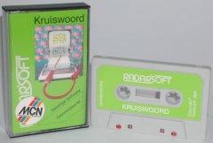 Commodore C64 game (cassette): Kruiswoord