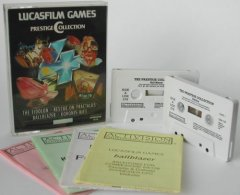 Commodore C64 game (cassette): Lucasfilm Games