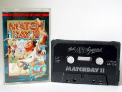 Commodore C64 game (cassette): Match Day II