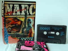 Commodore C64 game (cassette): NARC