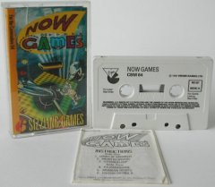 Commodore C64 game (cassette): Now Games 1