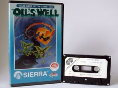 Commodore C64 game (cassette): Oil's Well