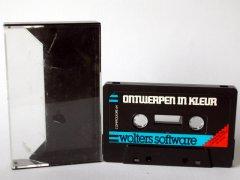 Commodore C64 graphical editor (cassette): Ontwerpen in kleur