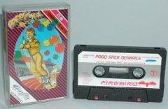 Commodore C64 game (cassette): Pogo Stick Olympics