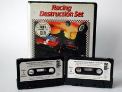 Commodore C64 game (cassette): Racing Destruction Set