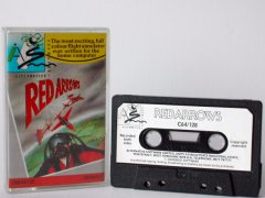 Commodore C64 game (cassette): Red Arrows