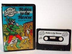 Commodore C16, C116, Plus/4 game (cassette): Robin to the Rescue