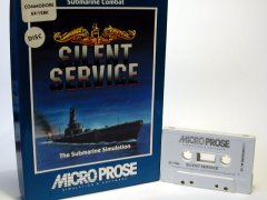Commodore C64 game (cassette): Silent Service
