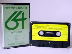 Commodore C64 game (cassette): Ski